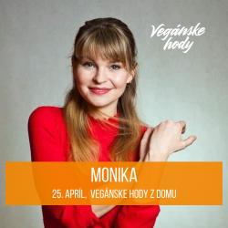Priamo v  streamovacom štúdiu sa bude nachádzať naša druhá moderátorka Monika, ktorá bude spolumoderovať priamy prenos vysielaný na facebooku. Možno tak uvidíte aj niečo zo zákulisia. Monika je nielen členkou vysielacieho štábu, ale aj event manažérkou samotných Vegánskych hodov.